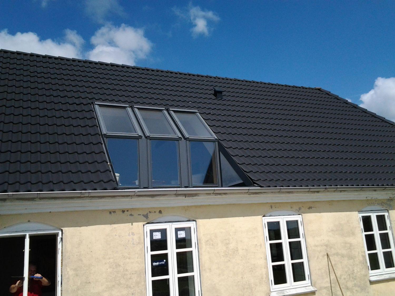Komplet tagrenovering og vindues udsiftning