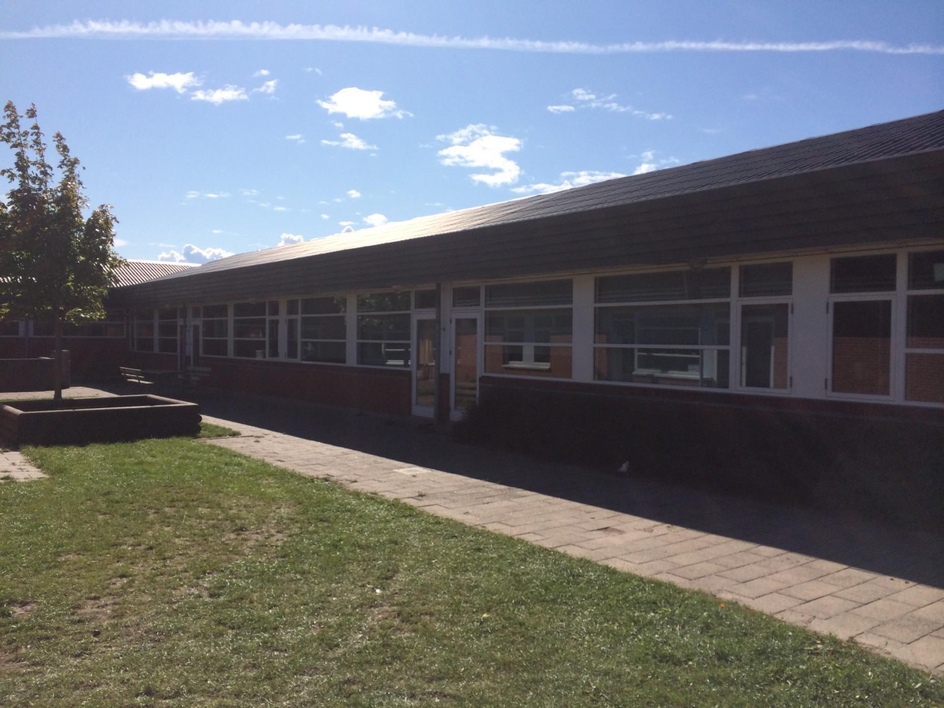 Udskiftning af vinduer på Vadum skole.