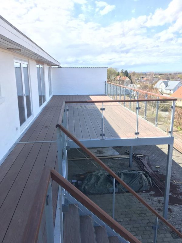 Terrasse i Frejlev