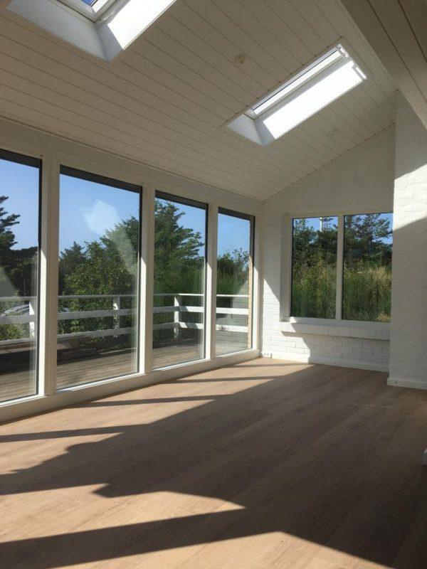 Tilbygning og renovering af sommerhus i Blokhus
