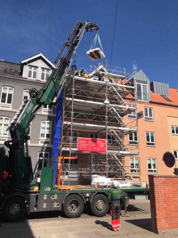 Tagudskiftning på ejendom i Reberbahnsgade Aalborg